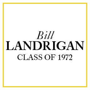 Bill Landrigan '72 Brotherhood Sponsor Logo